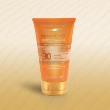 crema solare protettiva viso