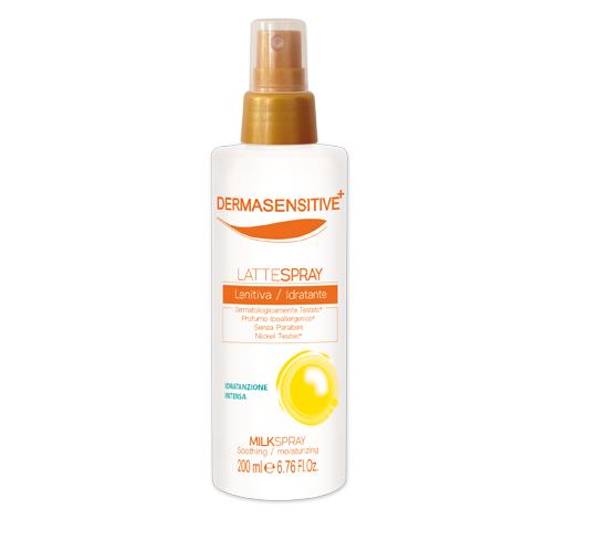 Latte doposole lenitivo spray dermasensitive
