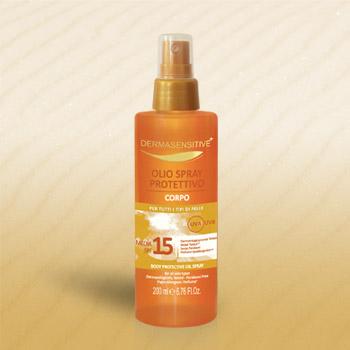Spray Solare Protettivo Corpo SPF 15